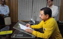 Hon'ble Minister Shri Pralhad Joshi takes charge of Ministry of Coal