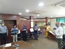 "Celebration of Constitution Day"" on 26th November, 2020 CMPDI(HQ)"